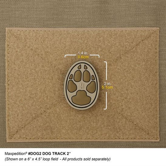 additional image for Dog Track 2 Inch Patch