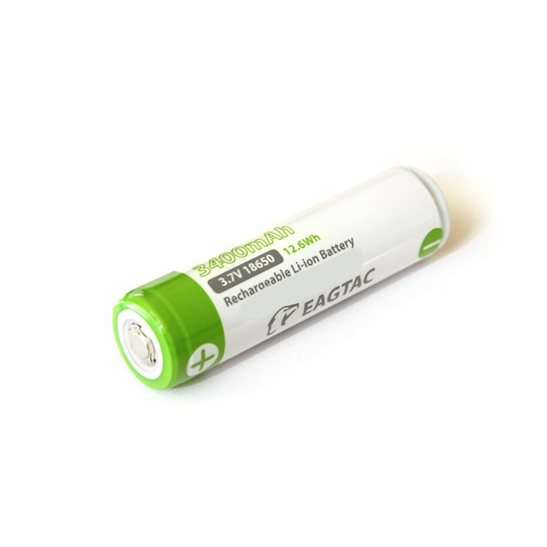 Eagletac 18650 3400 mAh Li-ion Battery