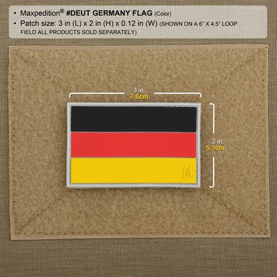 additional image for Germany Flag Patch