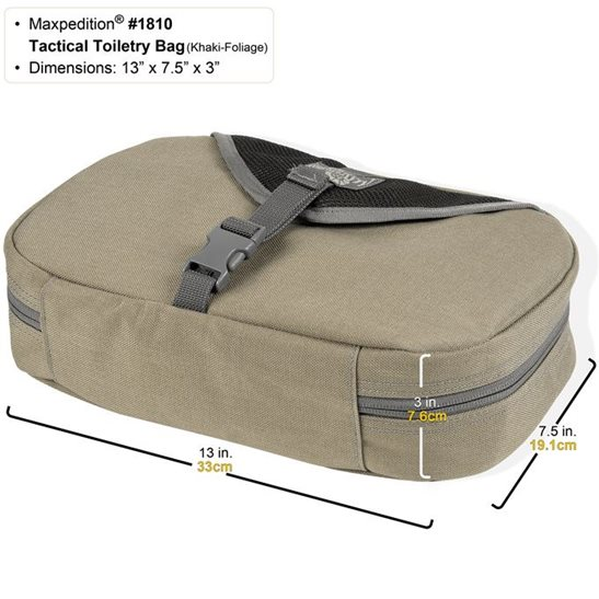 additional image for Tactical Toiletry Bag