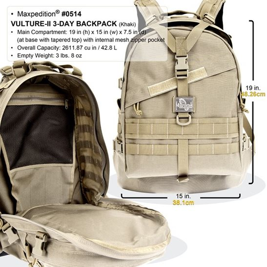 additional image for Vulture 2 Backpack