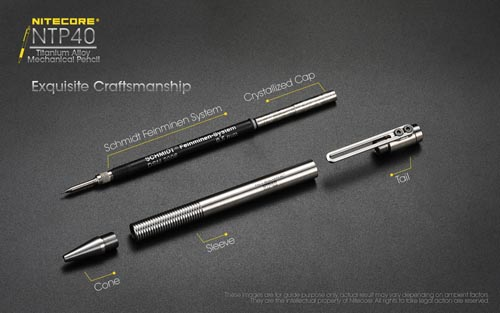 NTP40 Titanium Pencil