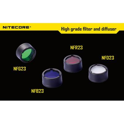 Nitecore 23mm Filters