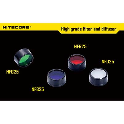 Nitecore 25.4mm Filters