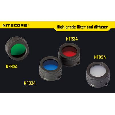 Nitecore 34mm Filters