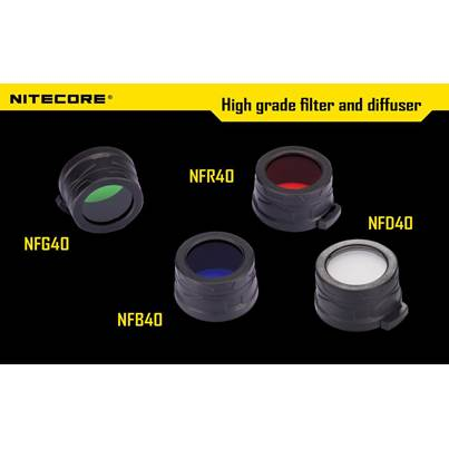 Nitecore 40mm Filters