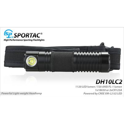 Sportac DH10LC2 Head Torch