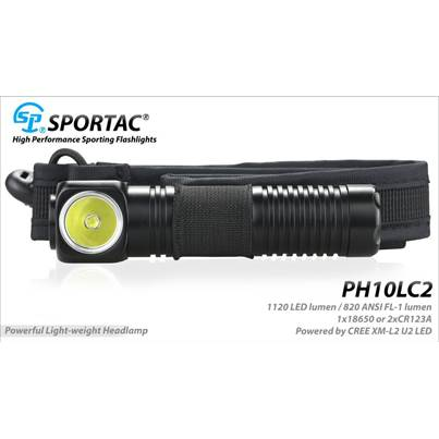 Sportac PH10LC2 Head Torch