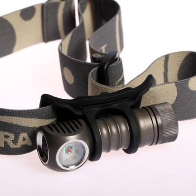 Zebralight H502r Red Headlamp