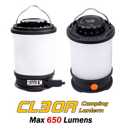 Fenix CL30R Rechargeable Camping Lantern