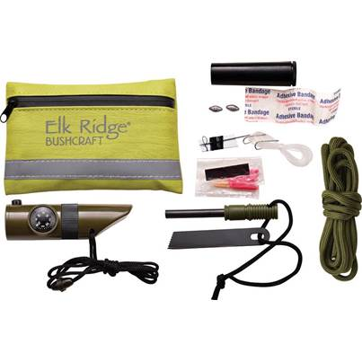 Elk Ridge Green Survival Kit