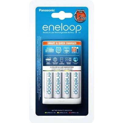Eneloop AA NiMH Batteries and Charger