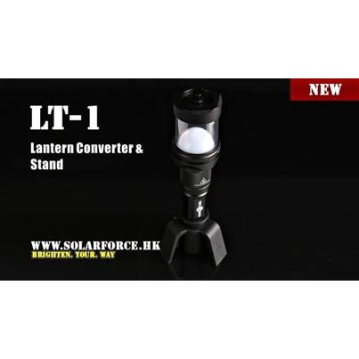 Solarforce LT-1 Lantern Converter and Stand