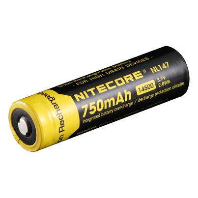Nitecore 14500 Li-ion Battery (750mAh) NL147