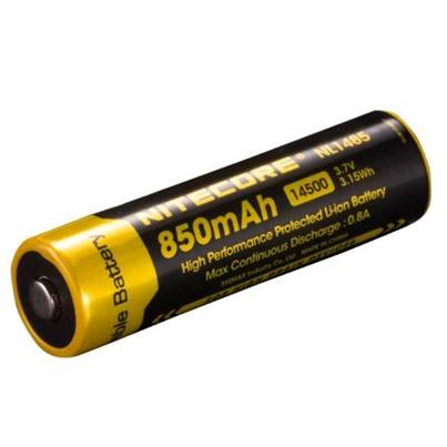 Nitecore 14500 Li-ion Battery (850mAh) NL1485
