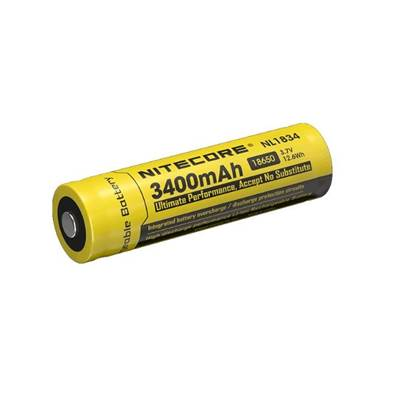Nitecore 18650 Li-ion Battery (3400mAh) NL1834