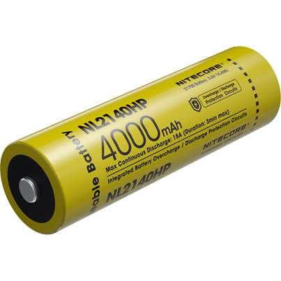 Nitecore 21700 NL2140HP Li-ion High Performance (4000mAh)