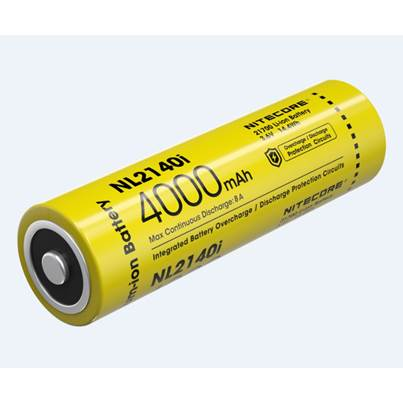Nitecore 21700 NL2140i Li-ion Battery (4000mAh)