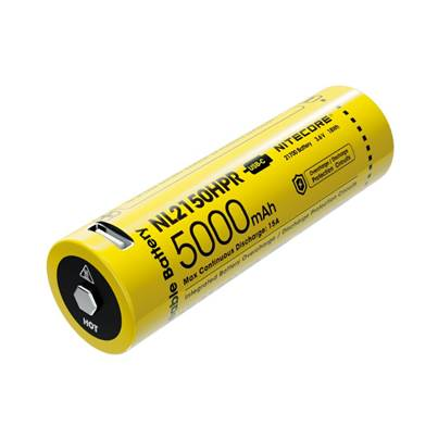 Nitecore 21700 NL2150HPR USB-C 15A Li-ion Battery