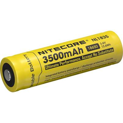 Nitecore 18650 Li-ion Battery (3500mAh) NL1835