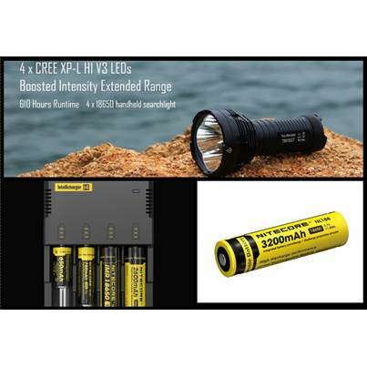 Nitecore TM16GT Bundle Deal