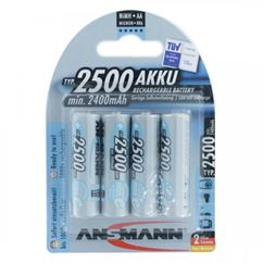 AA Ni-MH Rechargeable Batteries