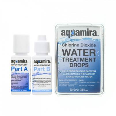 Aquamira Water Treatment Drops 1oz