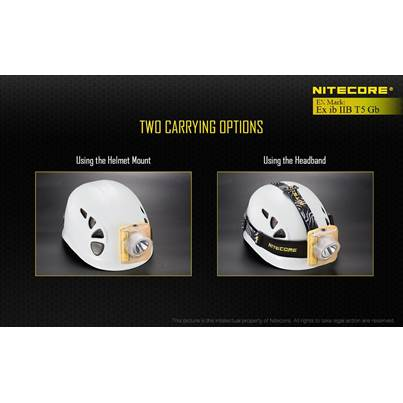 Nitecore Head Band for EH Head Lamps