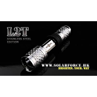 Solarforce L2T Special Edition Flashlight Host