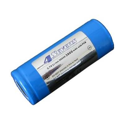 Foursevens Rechargeable Li-ion 26650 Battery