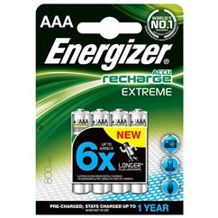 Accu Recharge Extreme AAA Ni-MH Batteries